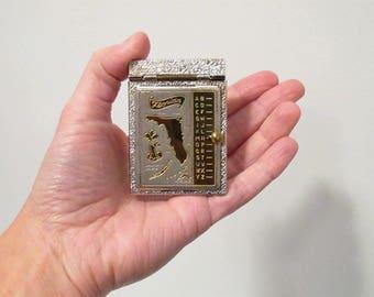 Vintage Mini Pop Up Name Address Keeper, Florida Souvenir, Miniature Address Book, Pocket Holder, Handheld Size