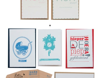 Mothers Day Package Luxe + card   Letterpress