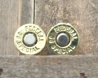SALE!! Federal 38 special earring studs with titanium backs was 19.99 now 15.00