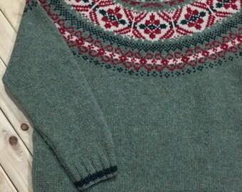 Eddie Bauer Legend Fair Isle Sweater