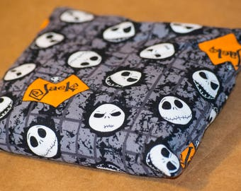 Jack Halloween nightmare Hot Cold Corn Pack 6x6 inches for Hot Therapy and Cold Therapy