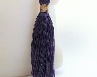 Great cotton - purple tassel