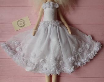 textile ballerina doll