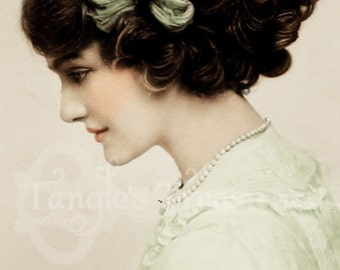 "Vintage Photograph ""Sadie""  Digital Image - Commerical Use"