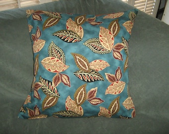 TRIBAL BEAT LEAVES Pillow Cover 18""