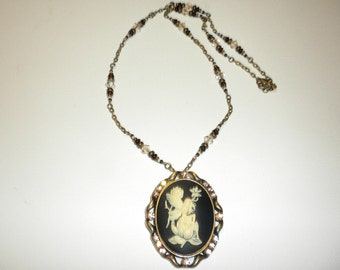 Pre-Summer SALE! Fairy Cameo Necklace