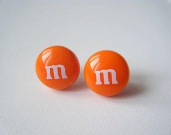 Earrings ♥ ♥ candy Orange