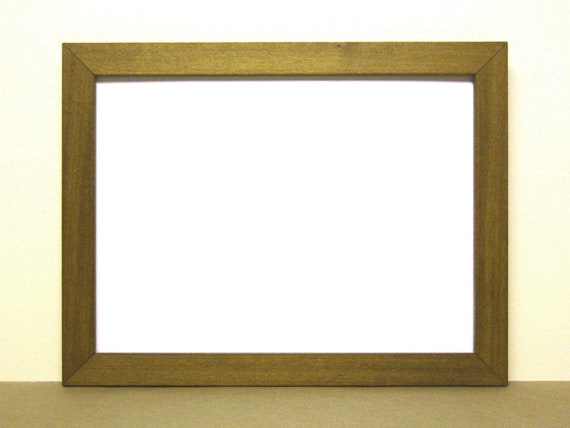 9x12 Frame, Pecan Frame, 9x12 Picture Frame, Photo Frame, Picture ...