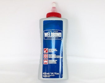 Weldbond Glue Clear Adhesive, Mosaics, Pendant Adhesive, 14.2 fl.oz,  Sealant, Glue Jewelry Bails, Stained Glass, GOG, Glass On Glass