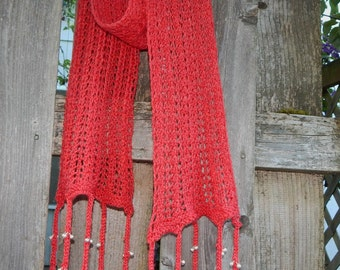 Rishikesh scarf - Original Knitting Pattern