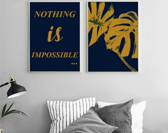 "Mustard on Navy -""Nothing is impossible"""