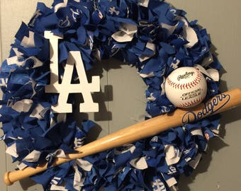 LA Dodgers Wreath