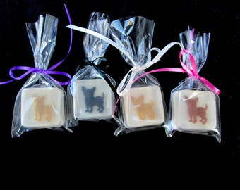 Year of the Dog Soap Favors, 12, Chinese New Year, any color combo, choice of scent