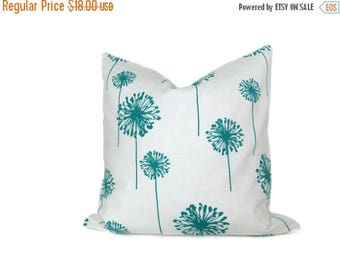 15% Off Sale Decorative Pillow Aqua Turquoise Pillow Cover 20x20 Turquoise Pillow Decorative Pillow covers Sofa Pillow Toss pillow covers Ho