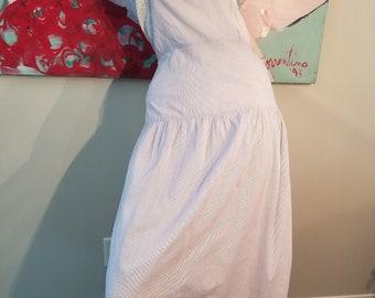 FREE  SHIPPING  1940  Cotton  Day  Dress