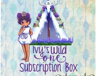 Ivy's Birthday Subscription Box//IndynIvy_Ink Planner Box