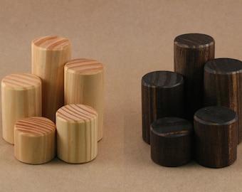 Display Riser / Ring Display / Mini Wooden Riser Solid Wood Jewelry Display / Figurine Display / Figurine Riser / R007