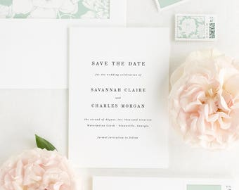 Savannah Save the Date - Deposit