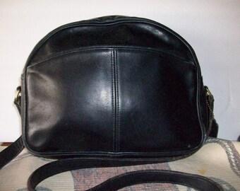 Coach Black Leather Cross Body Purse   Messenger  City Bag  197602975 bIND