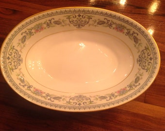 Oxford Oval Vegetable Serving Bowl Fontaine Pattern