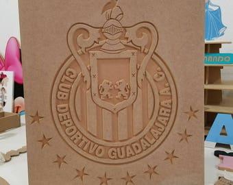 Custom cnc wood cutouts, soccer teams ,futbol, decoration