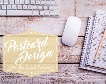 Postcard Design, Graphic Design, Company Postcard, Leaflet design, Custom Postcard Design, Marketing Materials, Business Postcard Design