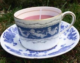 Handmade Vintage Teacup Candle