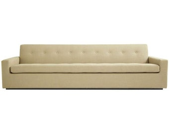 Modern mid century style sofa