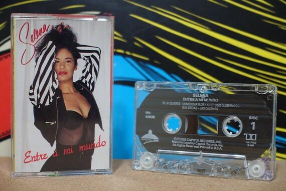 Entre A Mi Mundo by Selena Vintage Cassette Tape