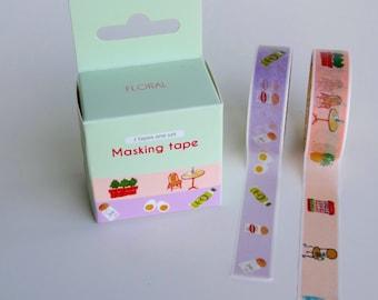 Masking tape set - 2 piece set!
