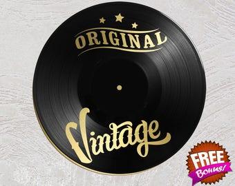 Vinyl mentor / / Original Vintage