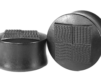 Four Elements Organic Wood Ear Plugs/Gauges/Ear Stretchers size 10mm-40mm