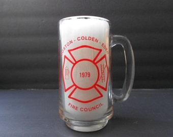 1979 Boston Colden Eden Fire Council Beer Mug