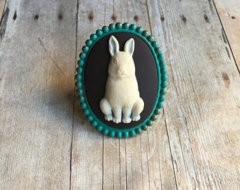 Bunny Ring Rabbit Jewelry