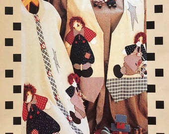 Raggedy Ann and Andy Applique Pattern
