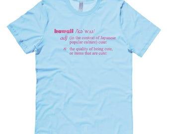 Kawaii T-shirt - Definition of Kawaii shirt - cute aesthetic Japan geek fairy kei decora clothing scene