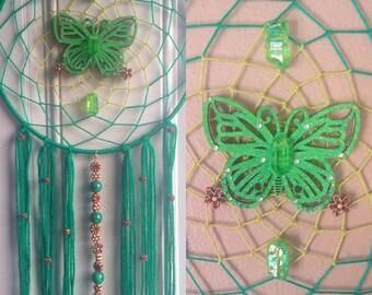 Sparkly Butterfly Dreamcatcher