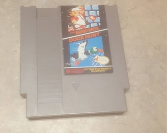 Super Mario Bros and Duck Hunt for the NES