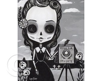 Beatriz The Photographer 5x7 print by Lupe Flores