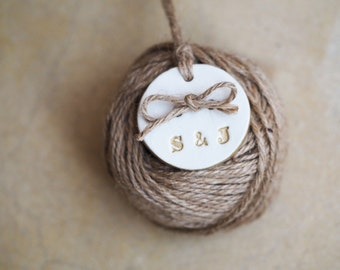 Tie the knot wedding favors set of 10 - Tying the knot save the date - Personalized wedding favors - Custom wedding favours - Rustic wedding