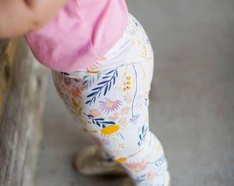 Wispy Wildflower Leggings for Baby, Toddler & Girls