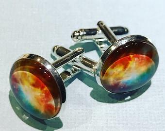Galaxy view cuff links