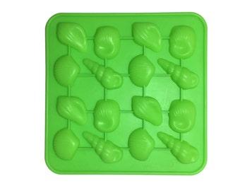 4 Shell Variety Soap Mold