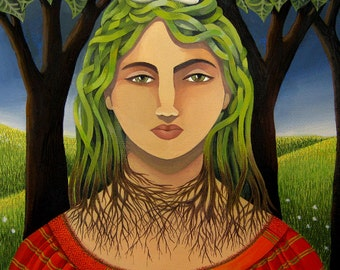 Mother Nature (Original painting SOLD) - print available