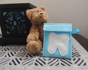 Tooth fairy pillow. Tooth fairy pouch. Childs decor. house and home decor. Fairies. Loosing your teeth. Australian seller.