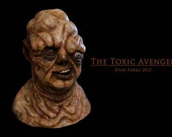 The Toxic Avenger Professional Latex Mask