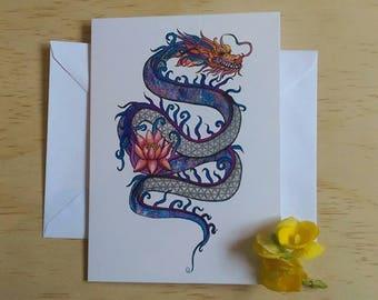 Cosmic Dragon Card
