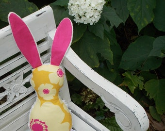 Room To Grow Floral Bits The Bunny Plush Rattle - SALE