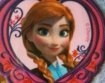 fusible badge (reinne ANNA from frozen)