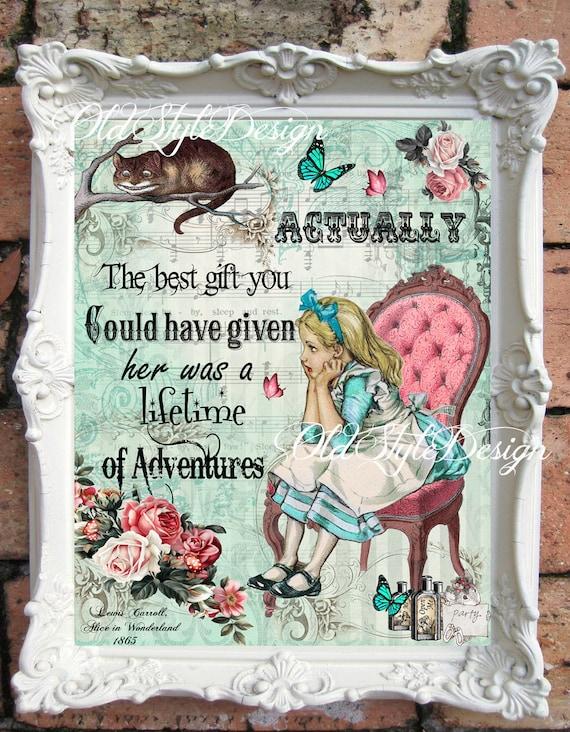 Alice In Wonderland Nursery Alice In Wonderland Decor Vintage